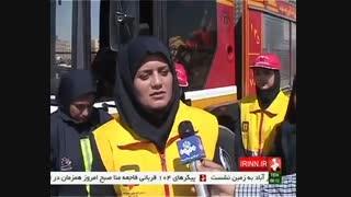 زنان آتش نشان: فعال جلوی دوربین ، غایب در سوانح خطرناک