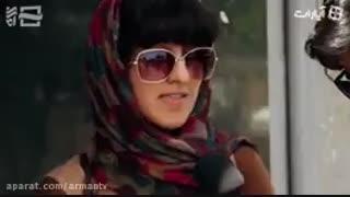 مصاحبه بامردم قبل وبعدازحملات موشکی سپاه