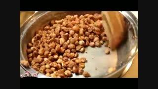 طرز تهیه آبنبات بادام زمینی