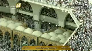 نماز عید فطر خانه خدا مکه مکرمه 1 شوال 1438