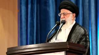 گلچینی از لحظات نماز عید فطر در مصلی تهران به امامت رهبر انقلاب