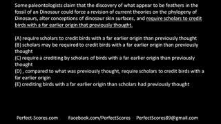 PerfectScores  SC  Part  4  -Parallelism & Comparisons
