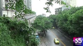 اتوبانی در پشت بام چند خانه در چین