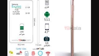 فیلم 360 درجه و مشخصات Samsung A3 2016