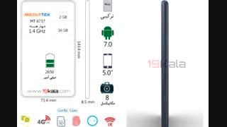 فیلم 360 درجه و مشخصات Nokia 3