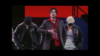 در تمرینات آخرین تور مایکل جکسون: آهنگ Jam سال ۲۰۰۹