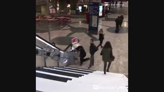 پله های موزیکال مترو