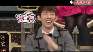 «Jokwon (2AM) & Jungmin (SS501) Dance Battle»
