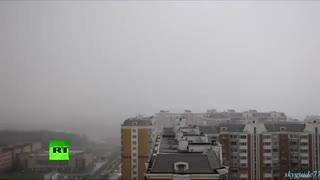 طوفان قرن آینده  در مسکو در 6ساعت قیامت به پا شد