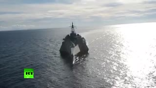 USS Coronado در تمرینات مشترک بانیروی دریایی فیلیپین شد