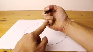 Drawing perfect circles with hand