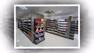 ویدیو کلیپ یخچال و لوازم خانگی فروشگاهی با تجهیزات فروشگاهی نمازی