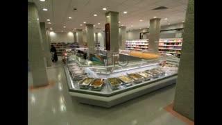 ویدیو کلیپ قفسه یخچال و فریزر های فروشگاهی در تجهیزات فروشگاهی نمازی