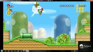 گیم پلی کامل بازی New Super Mario Bros Wii Part 1