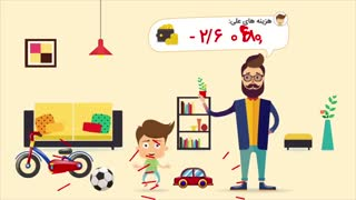 موشن گرافیک معرفی پارمیس همراه، اپلیکیشن حسابداری شخصی