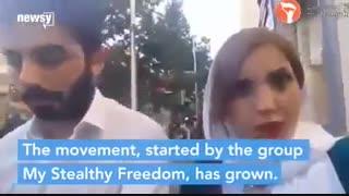 گزارشی که تصویر شجاعت زنان ایرانی را در جهان نشان می دهد
