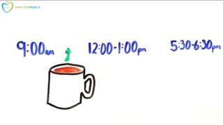 زمان درست مصرف قهوه را بدانیم - (فارسی در سیب اول)