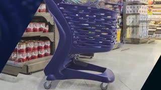 ویدیو کلیپ چرخ خرید فروشگاهی با تجهیزات فروشگاهی نمازی