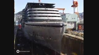 مراحل ساخت کشتی کروز