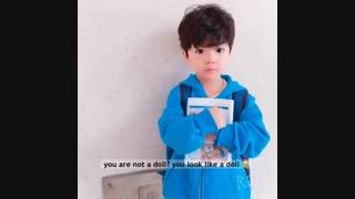پسربچه ی کیوت کره ای به اسم ووجو