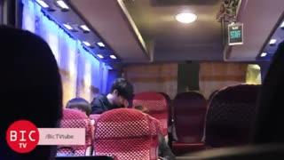 یه کلیپ از خروج اینفینیت از کنسرت در ویتنام