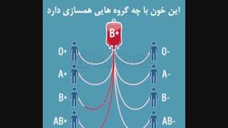 پزشکی: مهم است بدانیم باهرگروه خونی که هستیم به چه کسانی می توانیم خون اهدا ویا دریافت کنیم