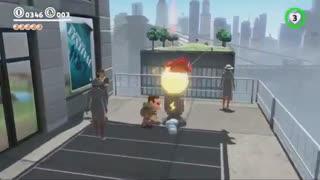 گیم پلی جدید منتشر شده از Super Mario Odyssey