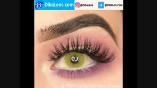 لنز رنگی لومینوس  لمون| DibaLens.com- Luminous Lemon