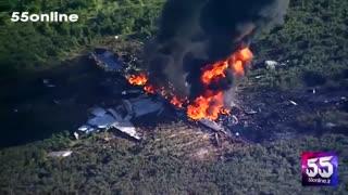 سقوط  هواپیمای C-130 سوخترسان تفنگداران دریایی ایالاتمتحده در میسیسیپی