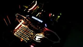 نورپردازی بی نظیر مادربرد GIGABYTE AORUS X299 GAMING 9