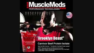 Whey Beef 100% isolate musclemeds