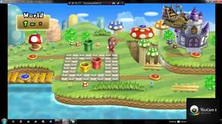 گیم پلی کامل بازی New Super Mario Bros Wii Part 2
