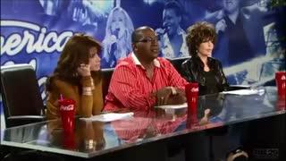 برخورد داوران برنامهAmerican Idol با یک روانی