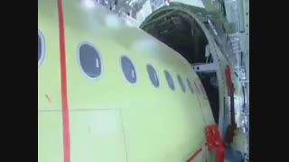 مراحل ساخت هواپیمای عظیم ایر باس ۳۸۰