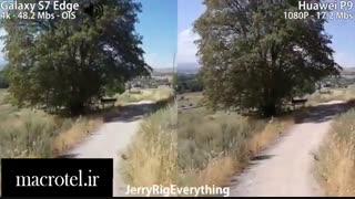 مقایسه دوربینS7 Edge و Mate 9 درmacrotel.ir