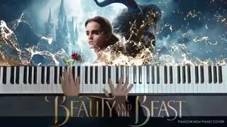 اجرا پیانو Beauty And The Beast دیو و دلبر
