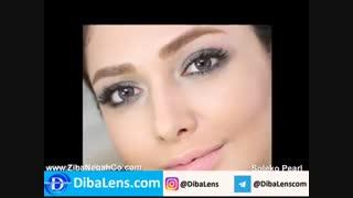 لنز رنگی سولکو  فصلی پرل|DibaLens.com-SOLEKO Twin Pearl