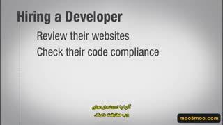 Selecting a designer or developer