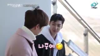 قسمت سوم برنامه celeb bros با حضور sungjae از btob