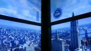 آسانسوری جالب در شهر نیویورک که هنگام صعود به طبقات بالاتر، از گذشته به زمان حال میاد...