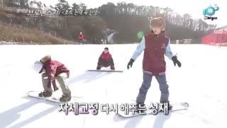 قسمت چهارم برنامه celeb bros با حضور sungjae از btob