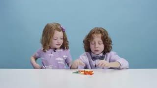 بچه های آمریکایی شکلات هایی از سراسر جهان را امتحان میکنند!