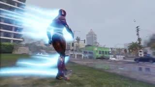نبرد بین هالک شگفت انگیز و مرد عنکبوتی