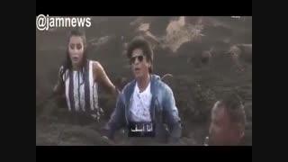شوخی ترسناک این بار با شاهرخ خان و همسرش و عصبانیت شدید شاهرخ خان
