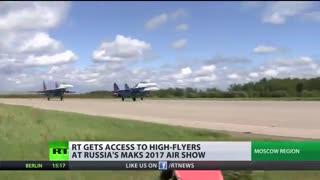 نمایش هوایی MAKS 2017 در روسیه آغاز می شود (پوشش ویژه