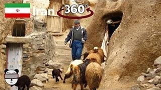 ویدیو 360 درجه از روستای زیبای کندوان