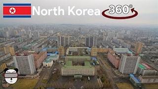 گشتی در کشور مرموز کره شمالی با این ویدیو 360 درجه