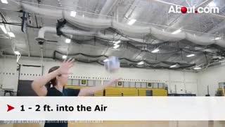 آموزش سرویس والیبال