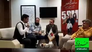 علی سرتیپی، مدیر عامل فیلمیران در گفت و گو با خبرفوری
