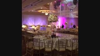 گل آرایی سالن عروسی